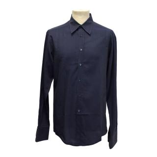 Navy Gucci shirt