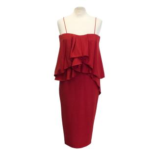 Aquascutum Red Pippa Cocktail Dress