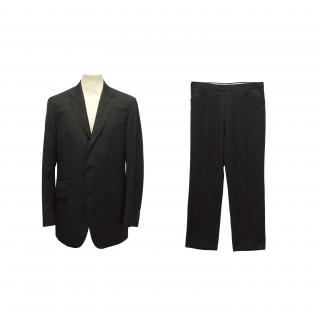 Timothy Everest black two button suit