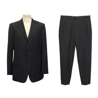 Gucci grey 3 button suit
