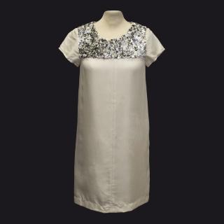 Lavender Label by Vera Wang Cream Dress