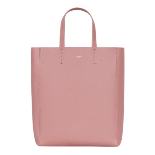 Celine Dusky Pink Small Cabas in grained calfskin