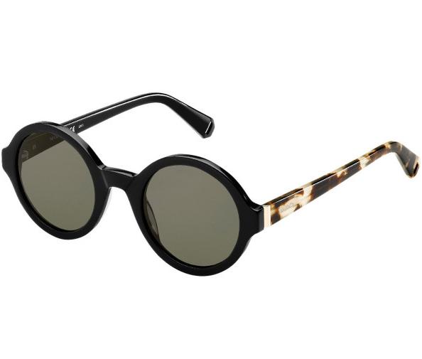 Max & Co Black/Tortoiseshell Round Sunglasses