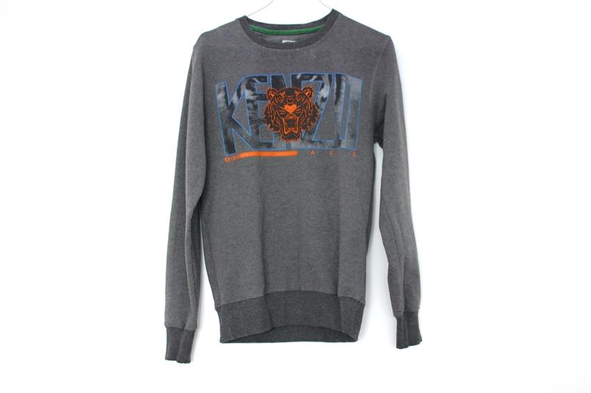 Kenzo Logo Tiger Print Sweatshirt