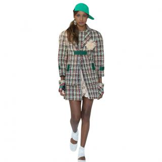 Chanel Techno Runway Lesage Tweed Dress & Jacket