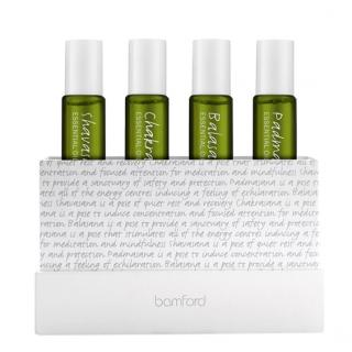 Bamford Organic Essential Oil Collection 4x8ml