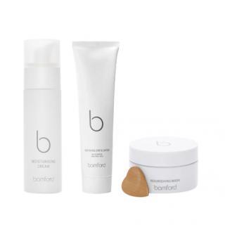 Bamford Moisturising Cream, Refining Exfoliator & Nourishing Mask Set