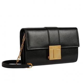 Tom Ford Black T-Clasp Shoulder Bag