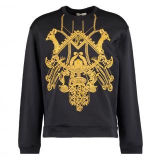 Versace Black & Gold Mens Sweatshirt