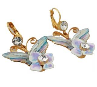 Dolce & Gabbana Flower Butterfly Drop Earrings