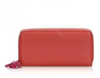 Loewe Amazona Zip Around Leather Long Wallet