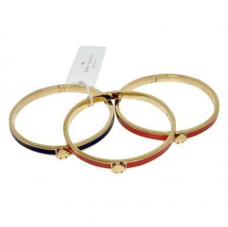 Kate Spade Enamel Spade Bracelets