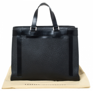 Louis Vuitton Black Taiga Leather Kasbek Bag