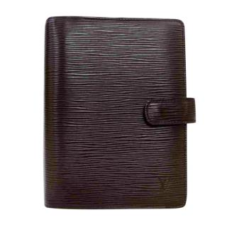 Louis Vuitton Brown Epi Leather Agenda MM