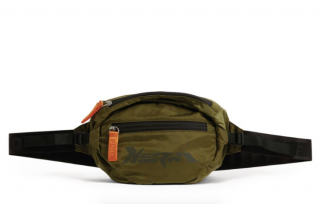 Heron Preston green Logo Belt Bag