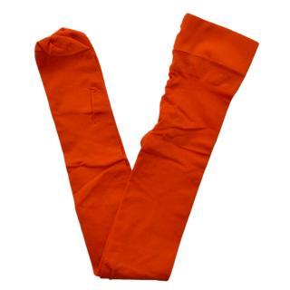 Gucci Runway Orange Amila Tights
