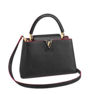 Louis Vuitton Capucines PM Taurillon Leather