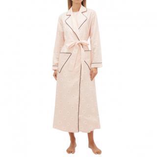 Emilia Wickstead Amana Striped Cotton-poplin Robe