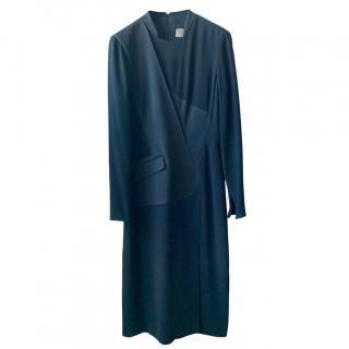 Burberry Black Tailored Long Dress