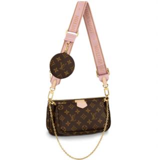 Louis Vuitton Rose Clair Multi Pochette Accessoires