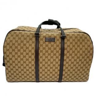 Gucci supreme monogram canvas Boston duffle bag