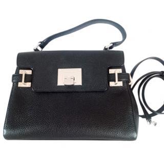 Michael Michael Kors Black Leather Astrid Satchel