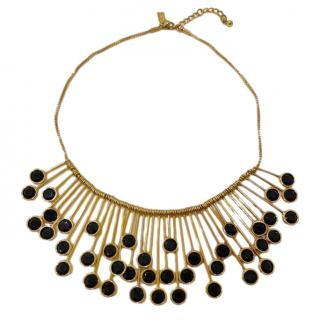 Kate Spade Gold Plated Crystal Necklace