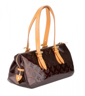 Louis Vuitton Amarante Vernis Rosewood Avenue Bag