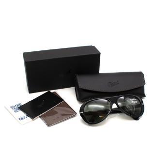 Persol Black PO3260S Acetate Sunglasses
