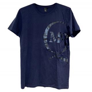 McQ Blue Logo T-Shirt