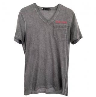 DSquared2 grey mens t-shirt