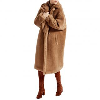 MaxMara camel teddy bear coat