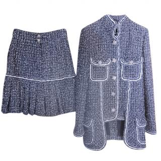 Truly Unique Tweed Skirt & High Neck Jacket