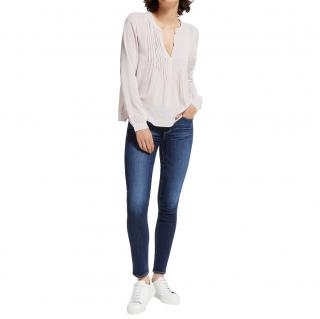 Paige Blue Denim Skyline Skinny Jeans