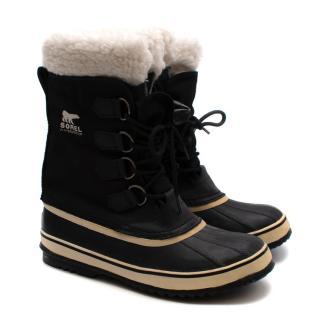 Sorel Black Winter Carnival Boots