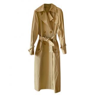 Weekend Max Mara Beige Cotton Trench Coat