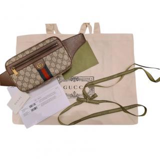 Gucci Supreme Canvas Ophidia Belt Bag