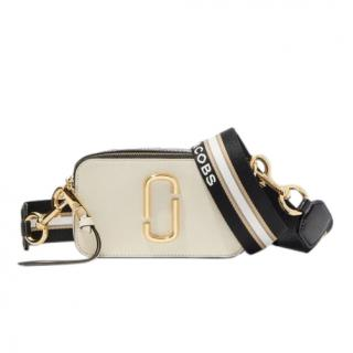 Marc Jacobs Snapshot Small Camera Bag in New Cloud White Multi