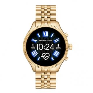 Michael Kors Gen 5 Lexington Gold-Tone Smartwatch