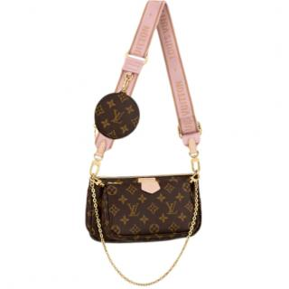 Louis Vuitton Multi Pochette Accessoires Monogram/Light Rose