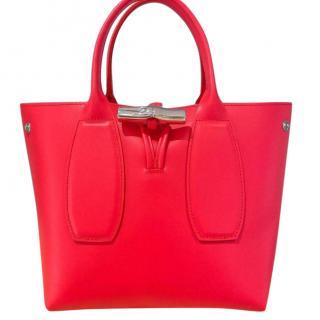 Longchamp Neon Pink Roseau Bag