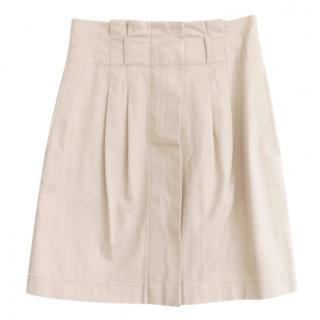 Burberry Brit Beige Pleated Skirt