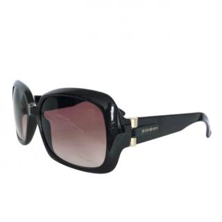 Yves Saint Laurent Brown Oversize Sunglasses