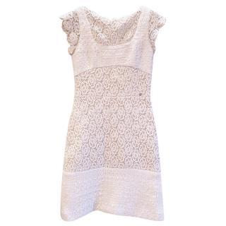 Rare Paris/Salzburg hand-embroided dress