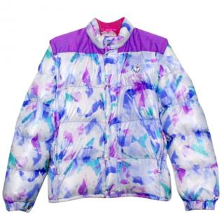 Moncler Limited Edition Multicoloured Jacket with Detachable Sleeves