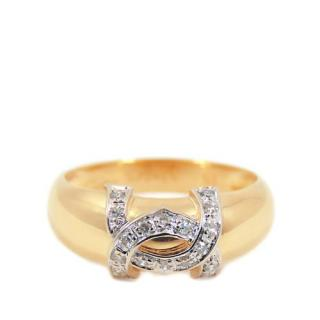 Cartier 18kt Yellow Gold Diamond Dian Ring