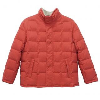 Loro Piana Kid's Down Cashmere Puffer Jacket