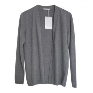 Max Mara Grey Wool & Cashmere Cardigan