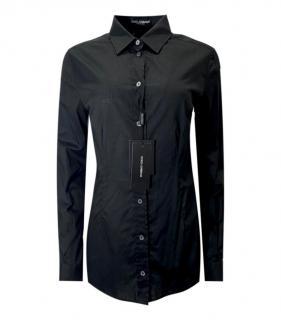 Dolce & Gabbana Black Cotton Shirt