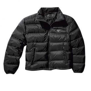 Prada Black Re-Nylon Puffer Jacket